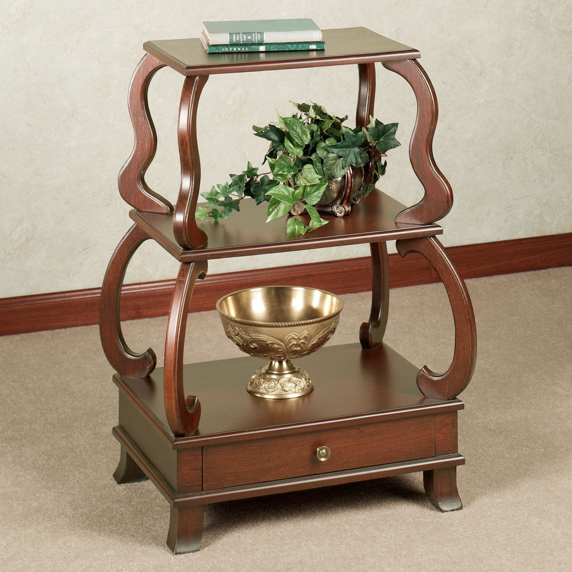 abbott wooden accent table decor ideas square cocktail tables windham side industrial coffee dark wood bedside southern enterprises mirage mirrored console silver rustic trunk