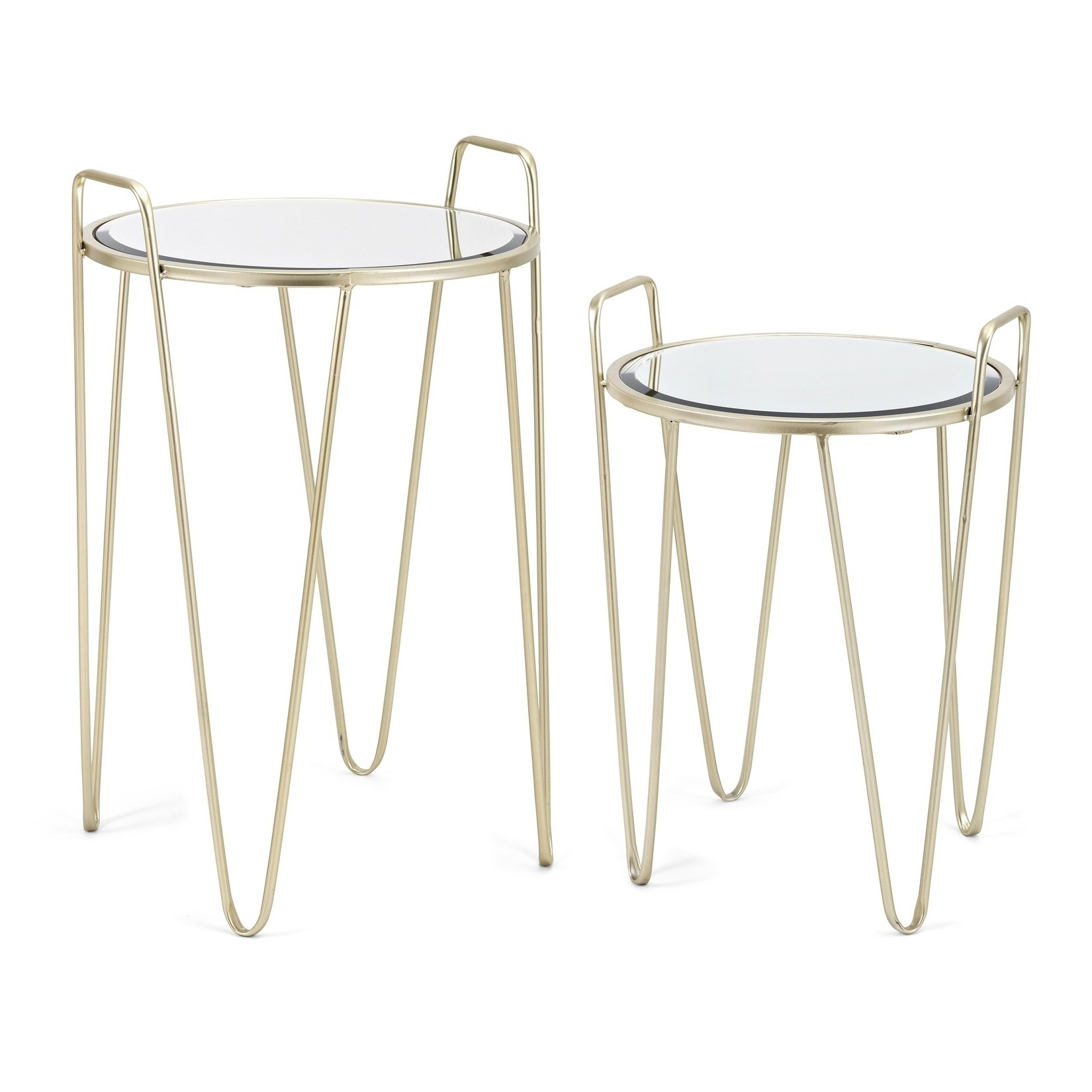 abigial satin gold accent tables set free table shipping today nautical bathroom sconces piece end plexiglass nesting timber trestle legs black solid wood coffee narrow kitchen