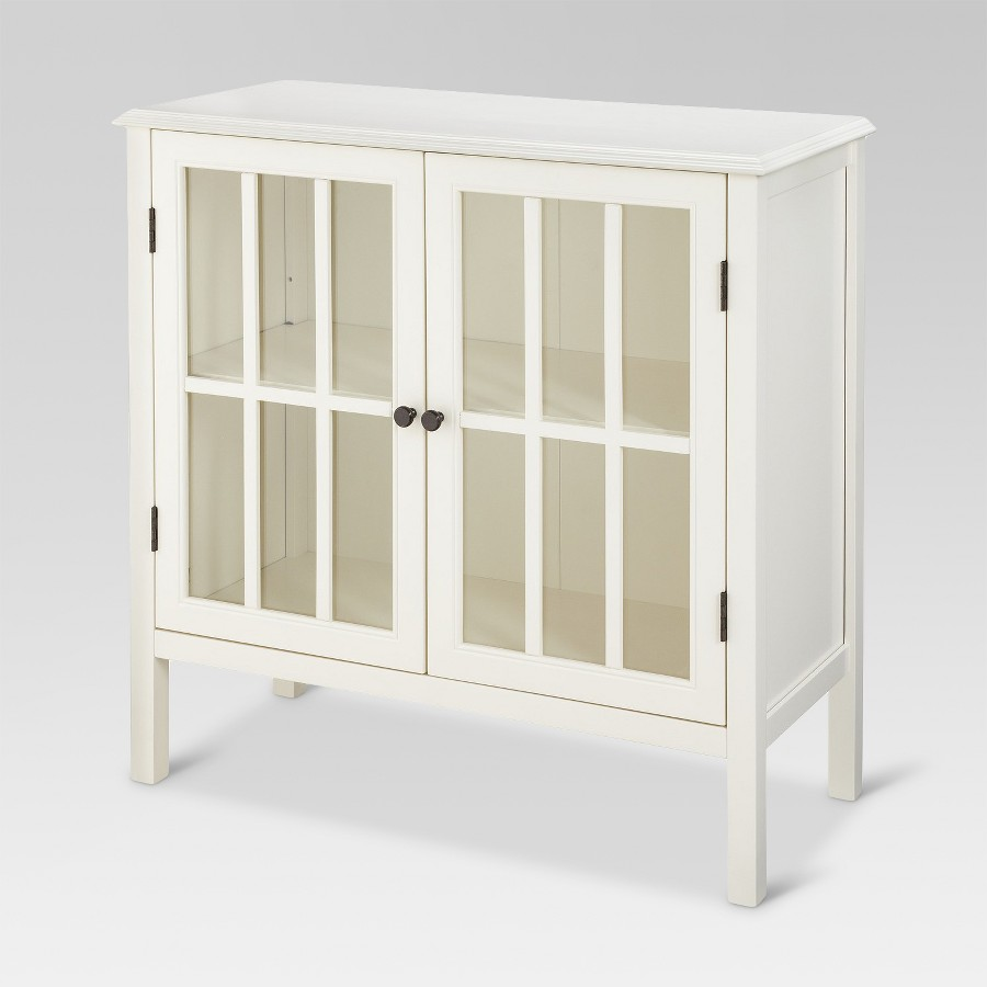 accent cabinet glass door storage furniture wood chest white modern hutch new heavy table legs end with drawer victorian console diy coffee target windham small entryway farmhouse