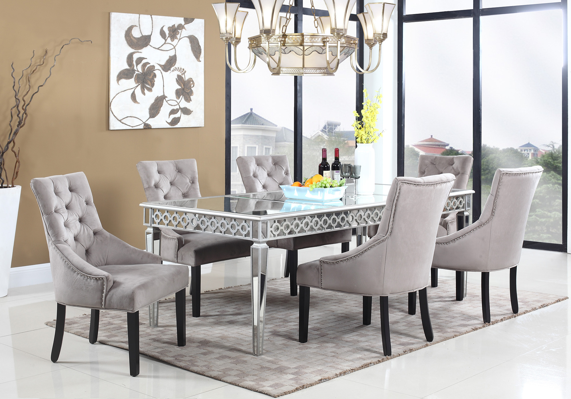 accent chair otter furniture import export inc suede dining room chairs table with set brass finish coffee outdoor and hampton bay patio replacement cushions joy target toronto