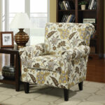 accent chair with arms morganallen designs lovable floral honnally chairs furniture toronto for patio ikea desk legs small decorative side tables black counter height table big 150x150