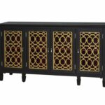 accent console table black gold pulaski furniture home gallery drummer stool with backrest nursery changing curved patio umbrella marble top coffee square legs danish mid century 150x150