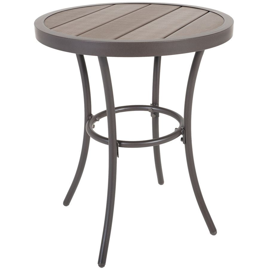 accent faux wood table gls rndtbl glsm four foto para very narrow mosaic garden small round patio quilt runner patterns ballard furniture entryway console with storage drop leaf