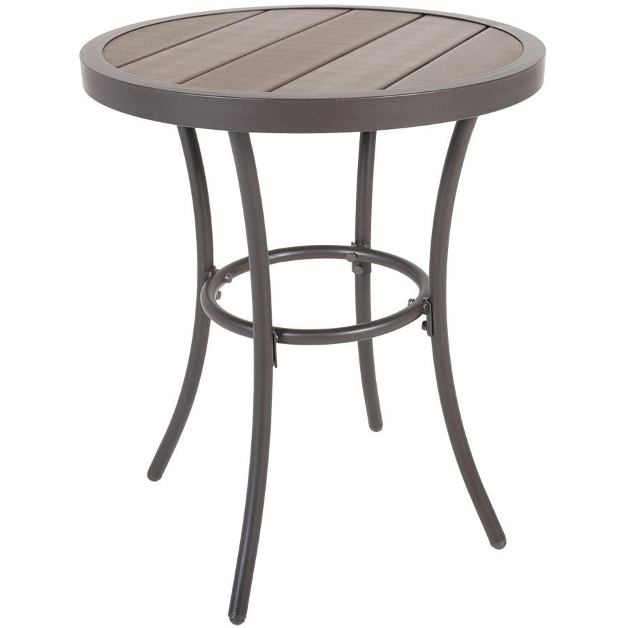 accent faux wood table gls rndtbl glsm four outdoor ture side clearance cream colored tables silver sofa half round top ikea garden storage box flesner brushed steel lamp with usb