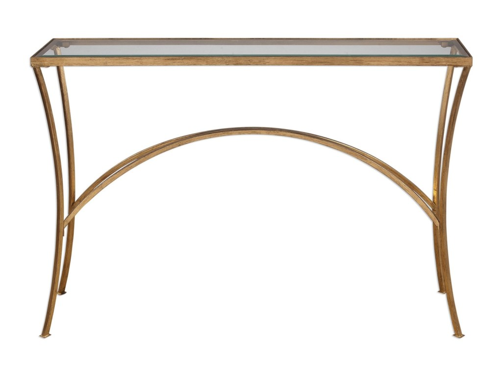 accent furniture alayna gold console table becker world products uttermost color sofa tables furniturealayna round glass coffee couch covers target end outside grills currey