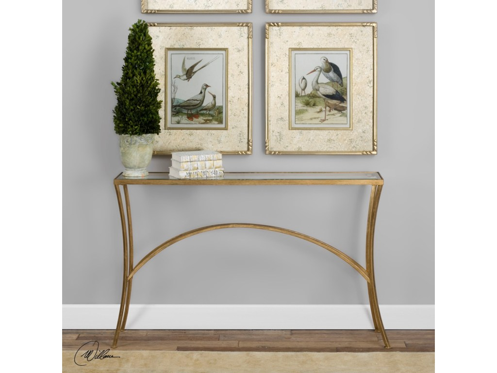 accent furniture alayna gold console table becker world products uttermost color stratford wicker folding bronze furniturealayna antique cocktail teal blue side metal and glass