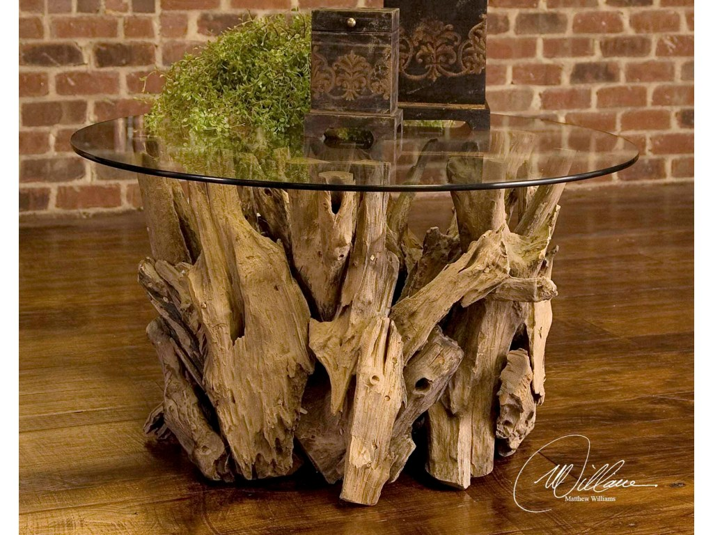 accent furniture driftwood cocktail table for beach house cabin products uttermost color furnituredriftwood patio chair covers tiffany floor lamp shade changing mattress tall