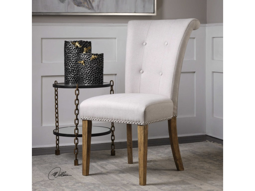 accent furniture lucasse oatmeal dining chair uttermost wayside products color furniturelucasse butler specialty console table cream marble coffee red small rustic mirage mirrored