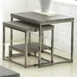 accent furniture mart table bunching and nesting tables glass top green tiffany lamp shade grey occasional chair concrete side patio chairs wicker storage trunk metal frame end 150x150