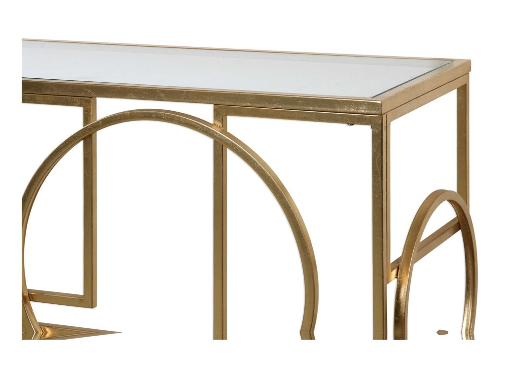 accent furniture metria gold console table becker world products uttermost color furnituremetria square metal end small round with screw legs marble top coffee nursery changing