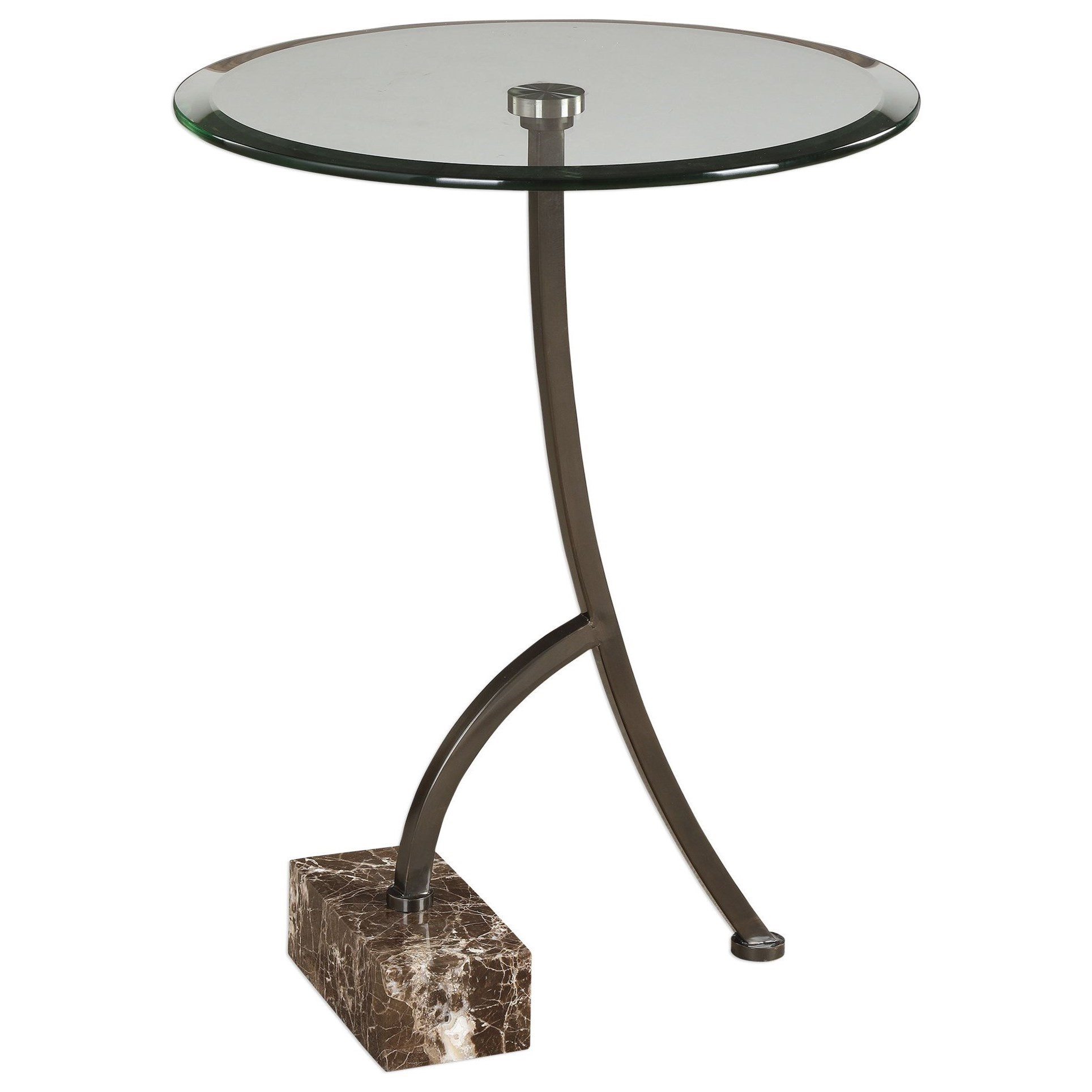 accent furniture occasional tables levi round bronze table products uttermost color cement vintage coffee narrow foyer pieces acrylic side with shelf wood set small black bedside