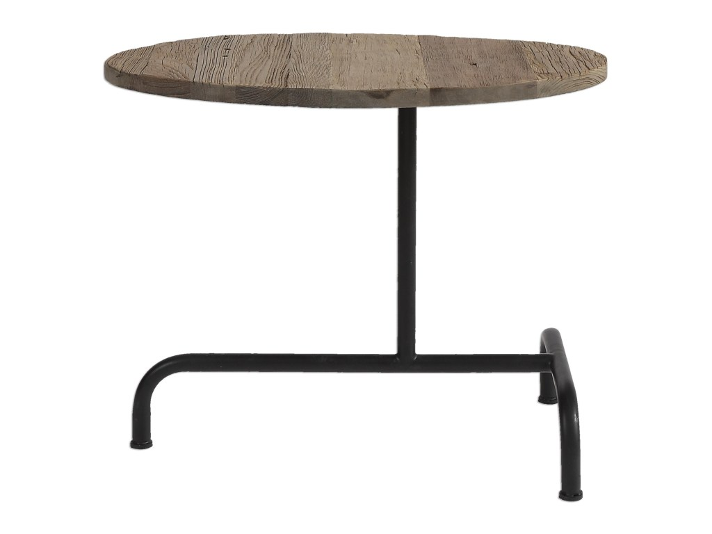 accent furniture occasional tables martez industrial table products uttermost color round tablesmartez the brick coffee wood and metal end oval linens antique roadshow tiffany