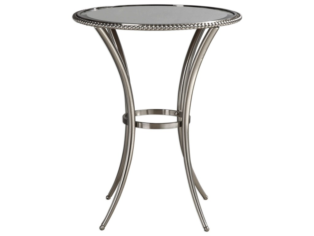 accent furniture occasional tables sherise metal products uttermost color white table tablessherise next coffee modern and glass oversized reading chair black mirrored chest
