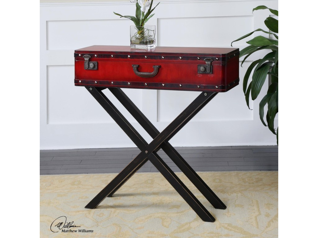 accent furniture taggart red console table uttermost becker world products color furnituretaggart yellow home decor black pedestal end metal transition strips for tile glass top