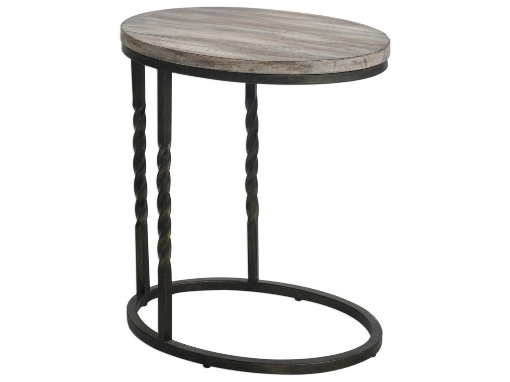 accent furniture tauret cantilever side table rotmans end tables products uttermost color round furnituretauret runner rugs ikea desk french chairs chrome glass and iron wicker