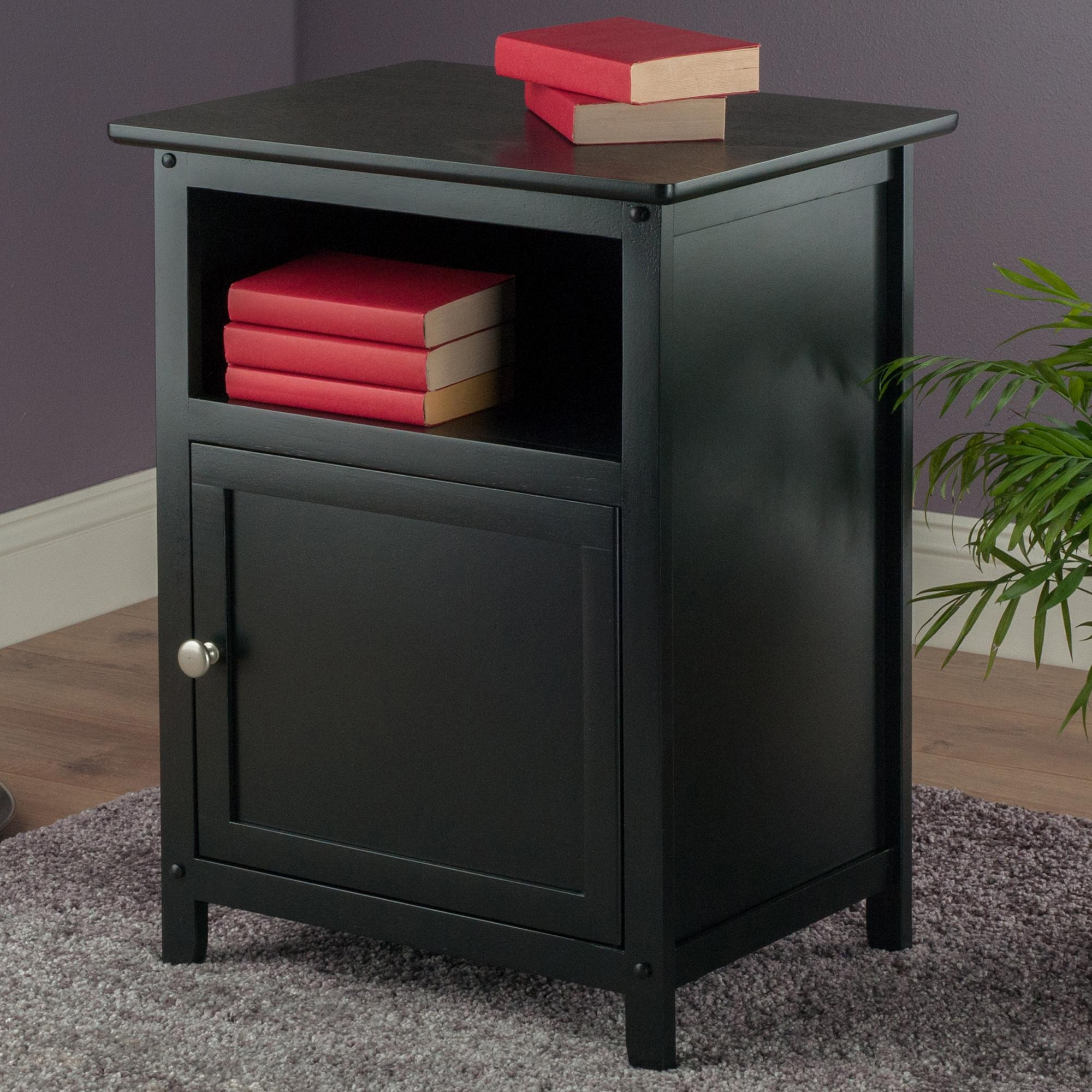 accent night stand black home improvement eugene table henry threshold chair contemporary chairs pastel furniture waterproof covers wood and brass coffee diy metal legs red