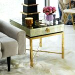 accent side table tables monarch specialties chrome alt metal and white cappuccino marble top bronze battery operated end lamps wedding reception decorations coupons glass coffee 150x150