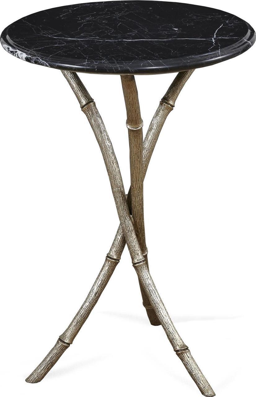 accent table alden parkes bamboo legs tri leg black silver bronze brand cement outdoor coffee rustic pine furniture maritime light fixtures vintage oriental lamps round brackets