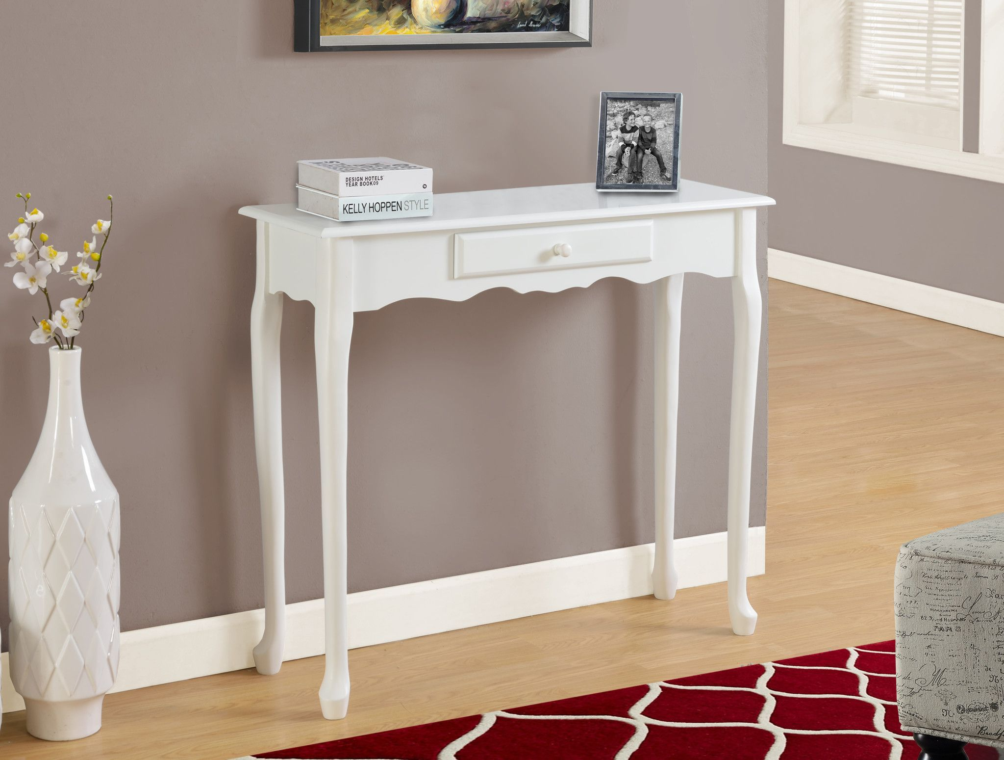 accent table antique white hall console apartment ideas wicker storage baskets garden classic furniture design black pottery barn replica scandinavian navy blue side buffet lamps