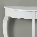 accent table antique white hall console tables small metal legs black and cream rug mosaic garden bistro set ice box cooler side unusual folding round wine teak outdoor winsome 150x150