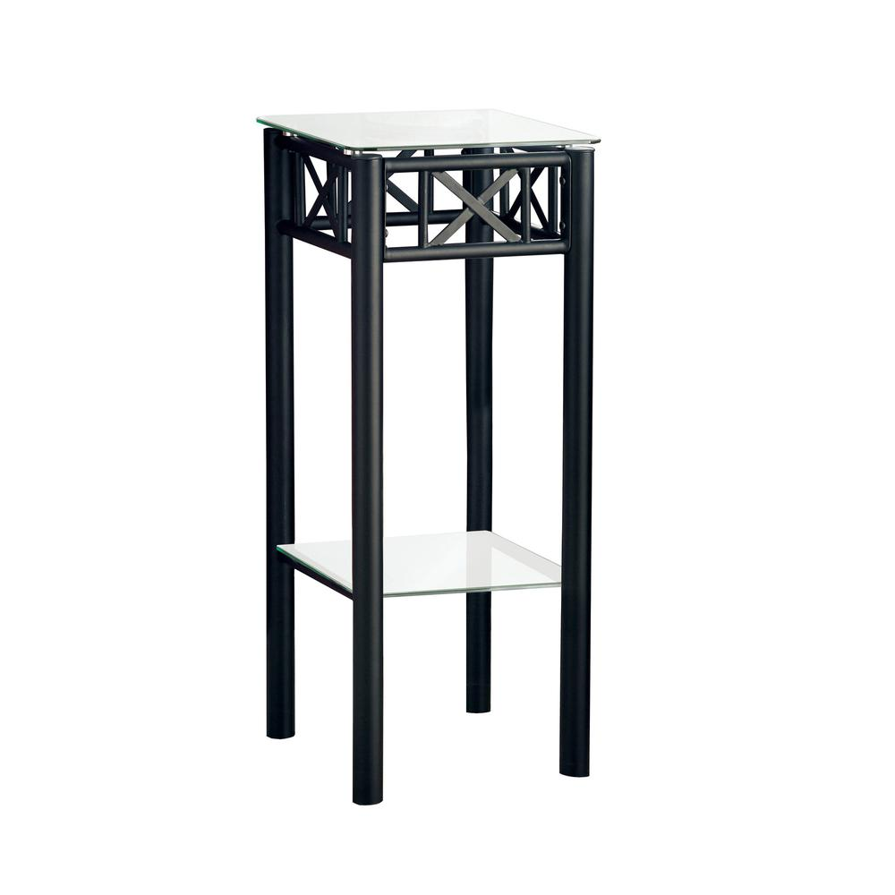 accent table black metal with tempered glass wall console outdoor umbrella stand weights target dressers cocktail tables hobby lobby coffee antique dining room garage threshold