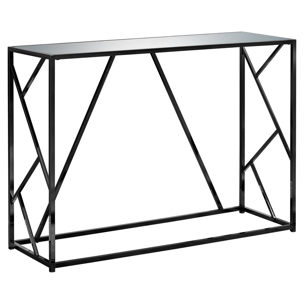 accent table black nickel metal mirror top tables with matching mirrors contemporary wood side studded dining chairs round glass end room furniture outdoor sofa home decorators