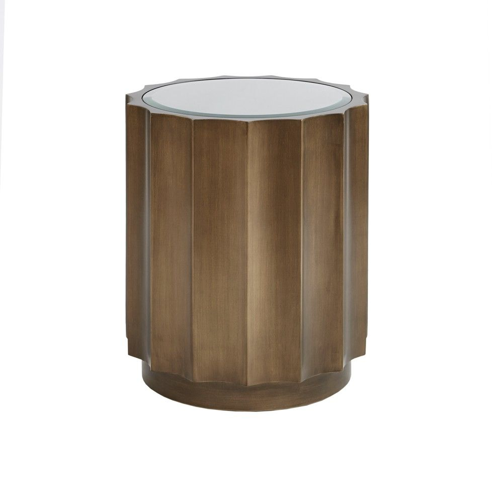 accent table bronze tables products round metal square marble top end concrete console dark gray chandelier side with shelf modern coffee astoria grand furniture pink pottery barn