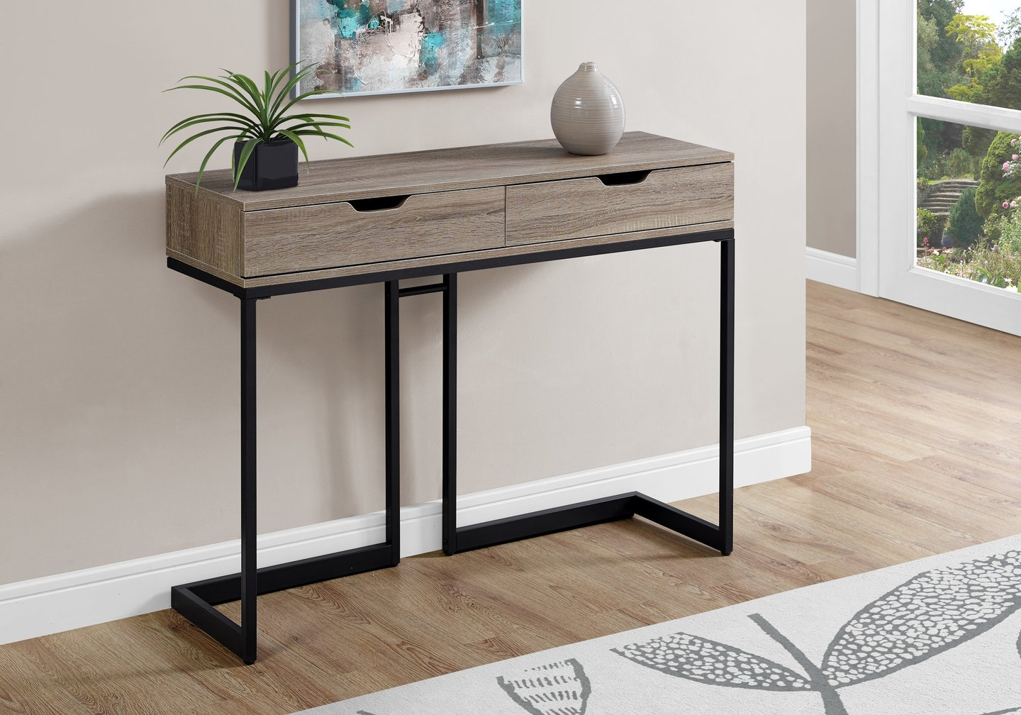 accent table dark taupe black hall console candace gray sofa and coffee sets solid wood round side nesting tables target gold glass set metal bedside for small room blue ceramic