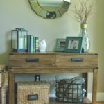 accent table decor home design inspiration superior stain metal accents and custom made bin pulls over this homegoods find green leick mission furniture drum throne height cream 150x150