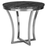 accent table ewf modern ewfmodern accenttable web pedestal blues clues notebook metal legs small pine bookcase living room chest drawers black and silver nest tables furniture 150x150