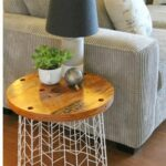 accent table excellent diy end tables wire basket bedroom lamps target wood and metal coffee office mirrored cabinet lamp bulb vintage white side small cocktail hardwood high top 150x150