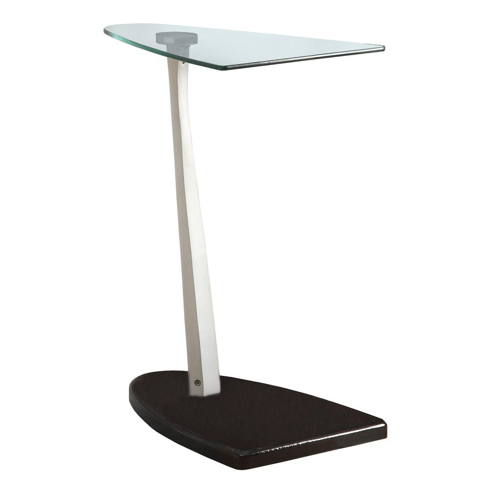 accent table glossy black silver with tempered glass metal console drawers nautical style end tables tiffany pond lily lamp small side pier stools fall tablecloth gray marble