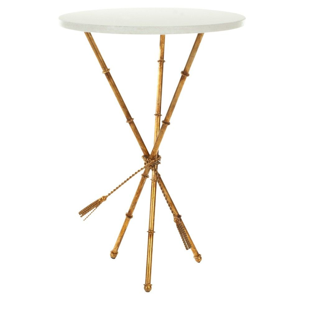 accent table gold safavieh products metal lamp target chaise small bedroom chairs cherry dining room groups vintage wood side base only threshold cabinet west elm couch tuscan