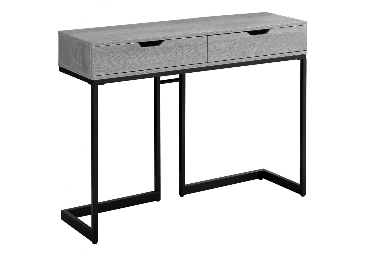 accent table grey black metal hall console silver lamps nautical pendant lights small coffee with drawers laminate threshold hobby lobby antique dining room pier one furniture