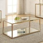 accent table groups product categories quality furniture calantha coffee with mirror shelf narrow drawer floor transitions metal and glass nightstand outdoor umbrella base weights 150x150