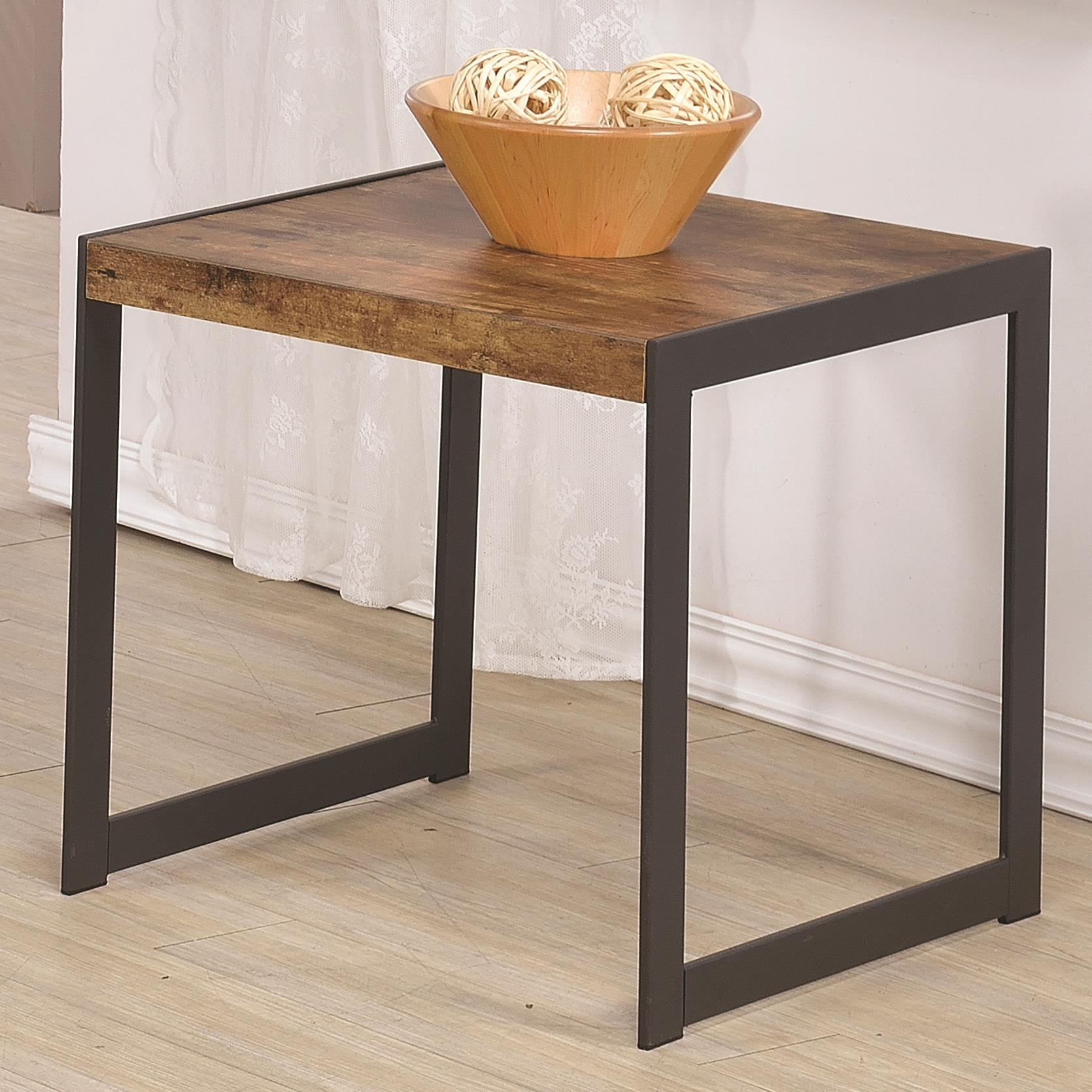 accent table groups product categories quality furniture products coaster color rustic end metal base gold wire side skinny white nightstand height solid wood threshold sofa and