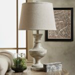 accent table lamps mycand hyperion sanded off white beige light lamp tables concrete global interior garden furniture centerpiece decor inch round cotton tablecloths supplies red 150x150