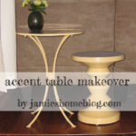 accent table makeover jamie home blog tables finished main diy small silver lamp mini tiffany style lamps mid century dining and chairs white resin wicker side hairpin legs ikea 150x150