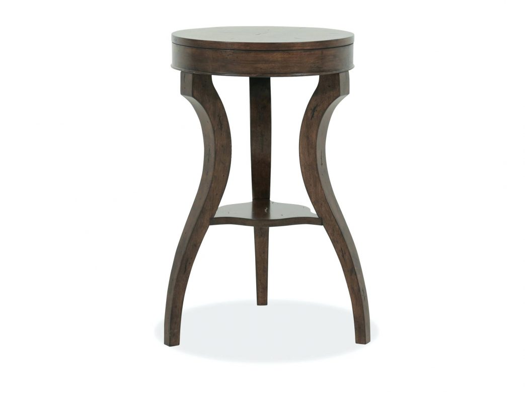 accent table metal and wood round faux target small kitchen unfinished avani mango drum top contemporary earthy brown scenic hook natural large size modern dining room inch
