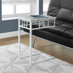 accent table metal marble look living room office snack prod white top organizer storage patio chair cushions pier one wall decor shower target wooden stacking tables wicker 150x150