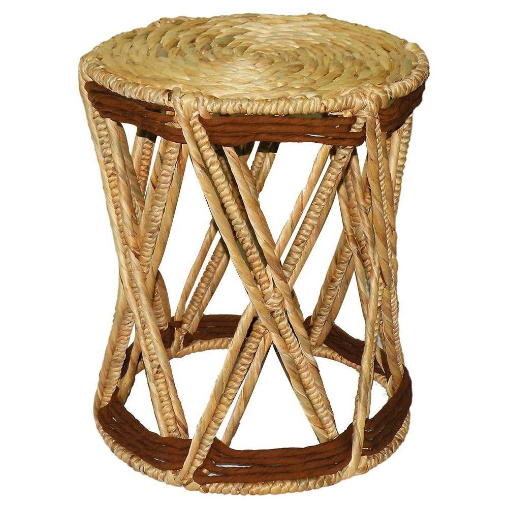 accent table nate berkus woven tan natural target round gold with marble top domino coffee tablecloth furniture for entry foyer curved chest drawers ashley storage cube baroque