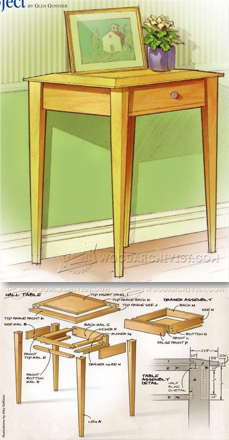 accent table plans furniture and projects woodarchivist paper lamp shades target glass coffee halloween quilted runner patterns oak bedside cabinets wooden designs brown entryway