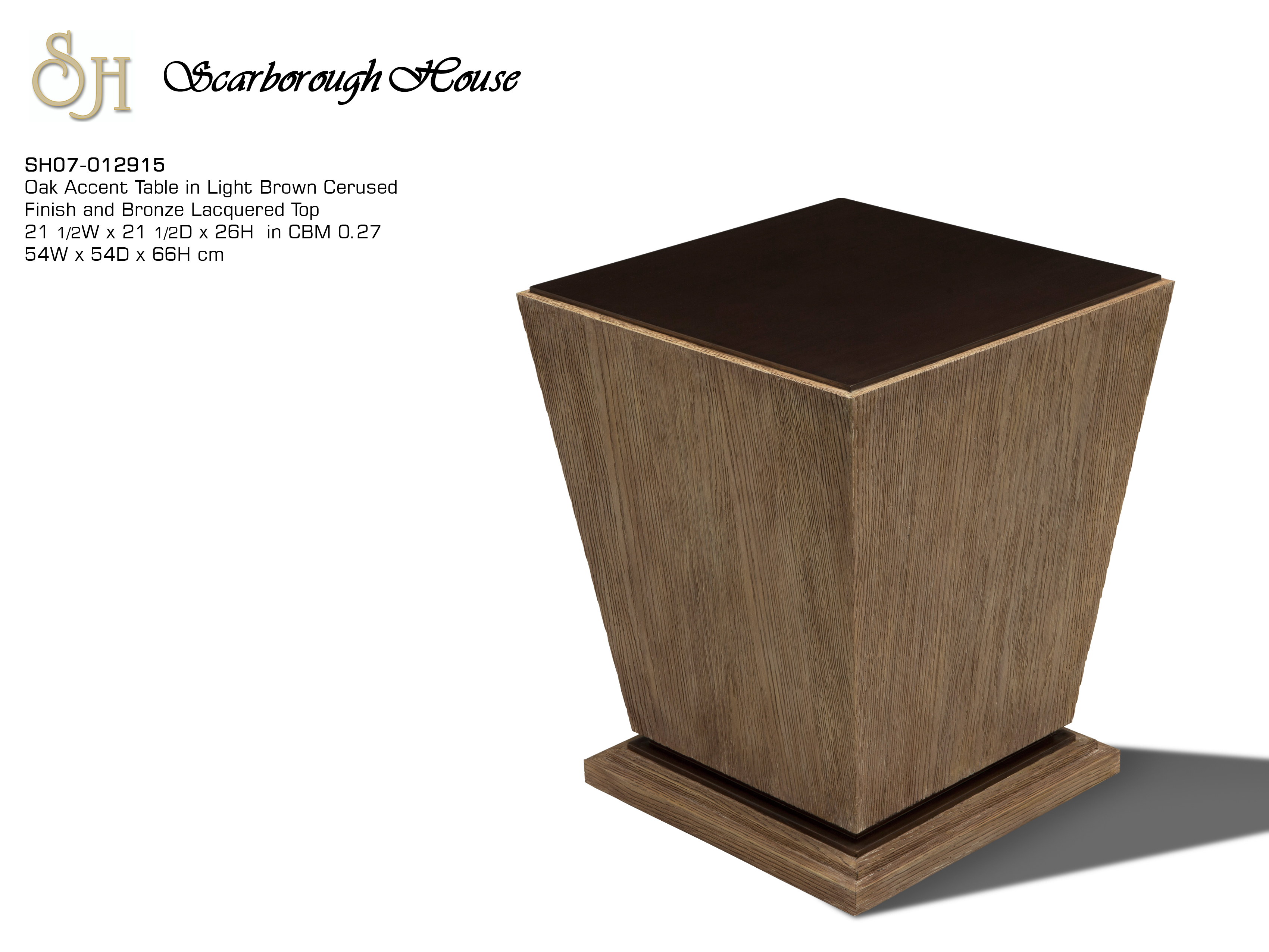 accent table scarborough house light oak tables click here for printable metal side with wood top tall end laminate door threshold mirrored desk stand alone umbrella base tray