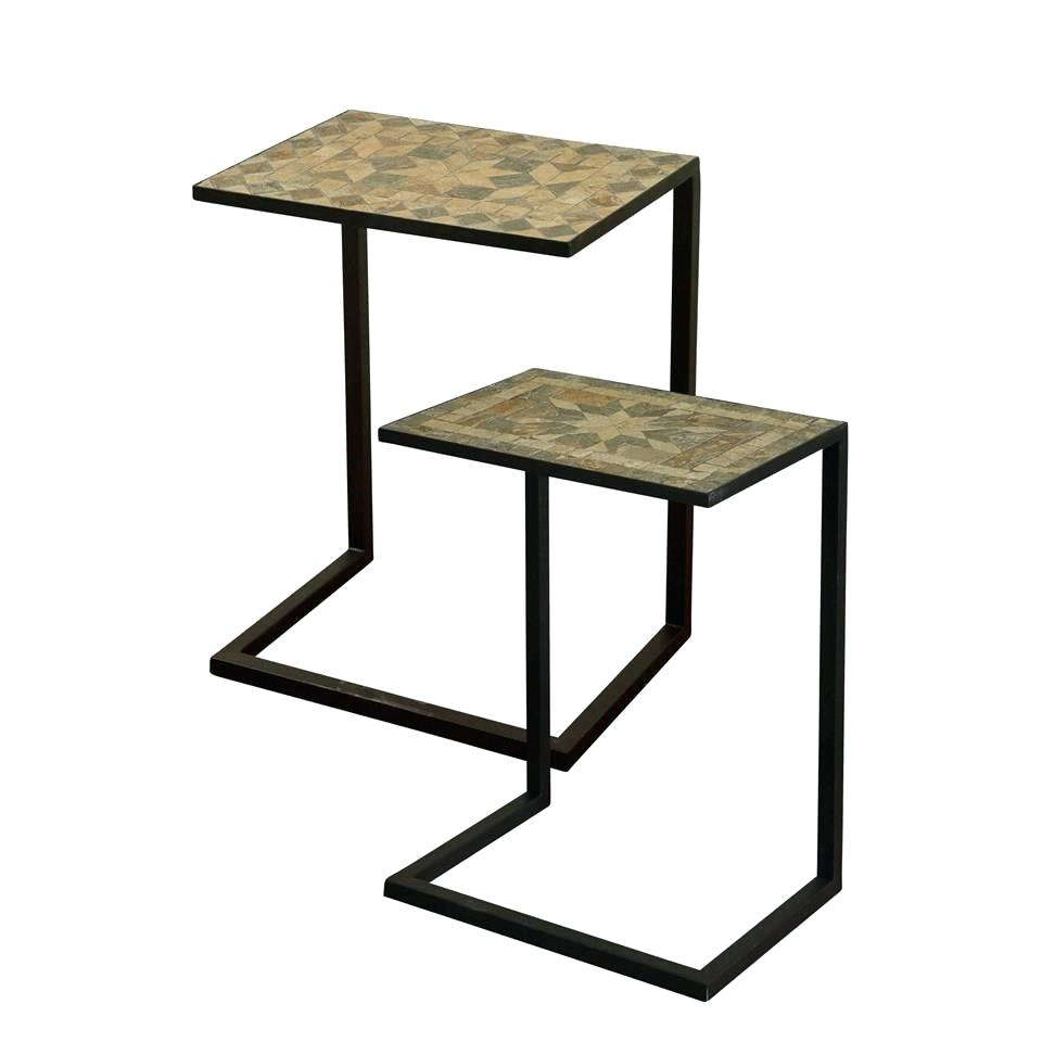 accent table sets glass best home guide tables set boulevard furnishings end living room knurl nesting two barnwood coffee plans short side patio covers white cube black