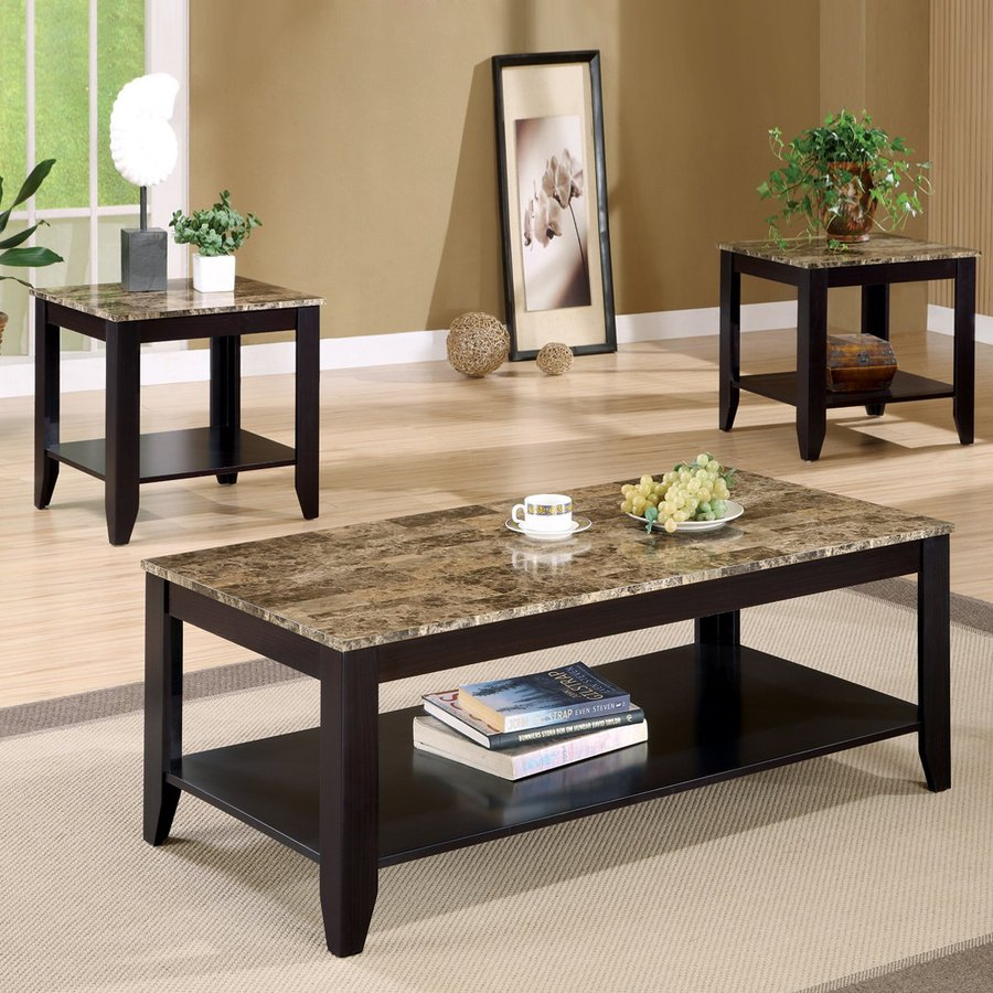 accent table sets set rosewood tall end tables coffee brown coaster fine furniture piece sears winter boots white glass side ashley laflorn chairside lucite legs decorating with