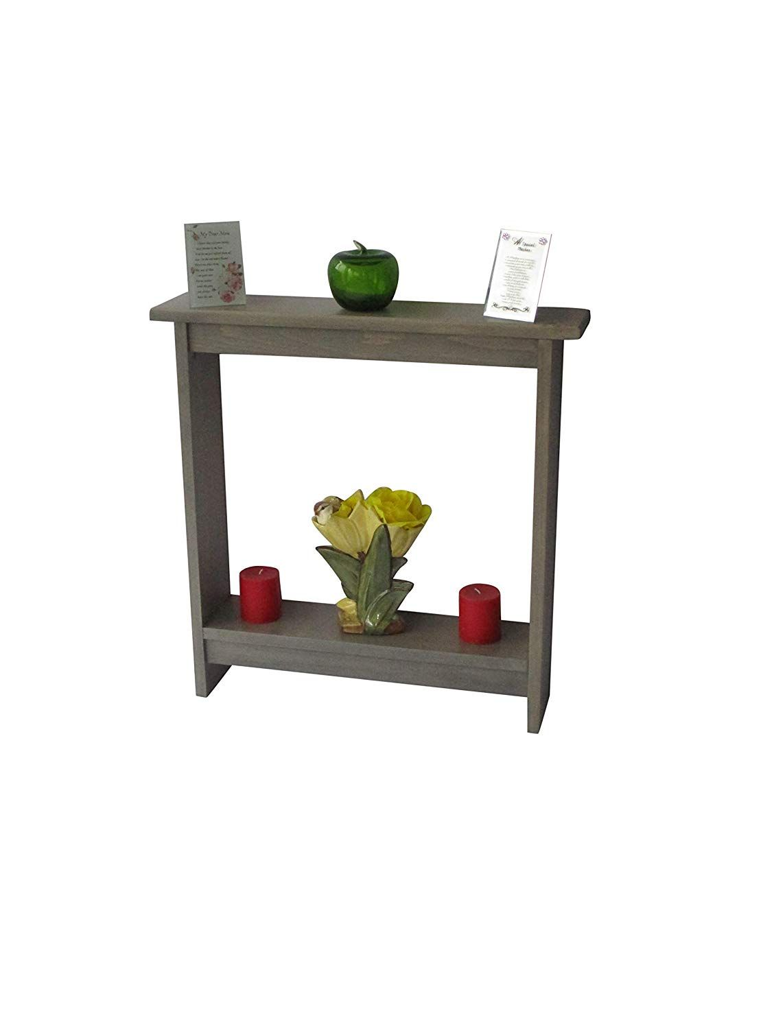 accent table small side entry skinny rustic entryway gray hall stain oriental ginger jar lamps live edge walnut vintage crystal glass coffee with brass legs magnussen console
