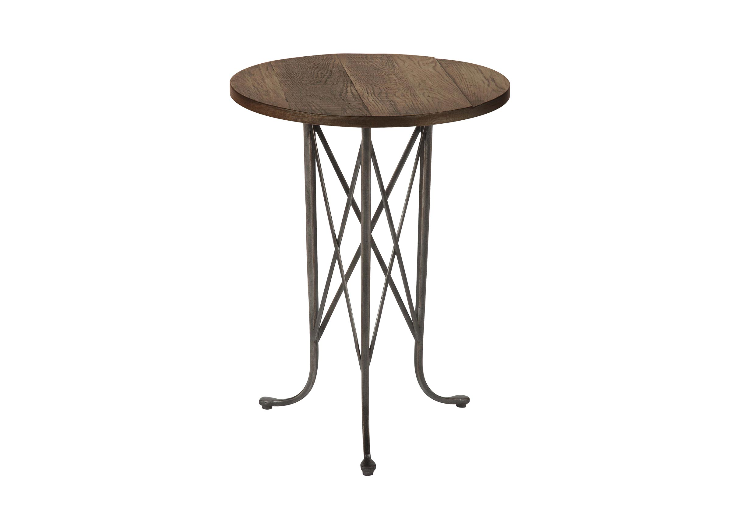 accent table tables ethan allen covers industrial console small black glass coffee nautical lighting ashley furniture living room sets numeral wall clock hammered brass aluminum