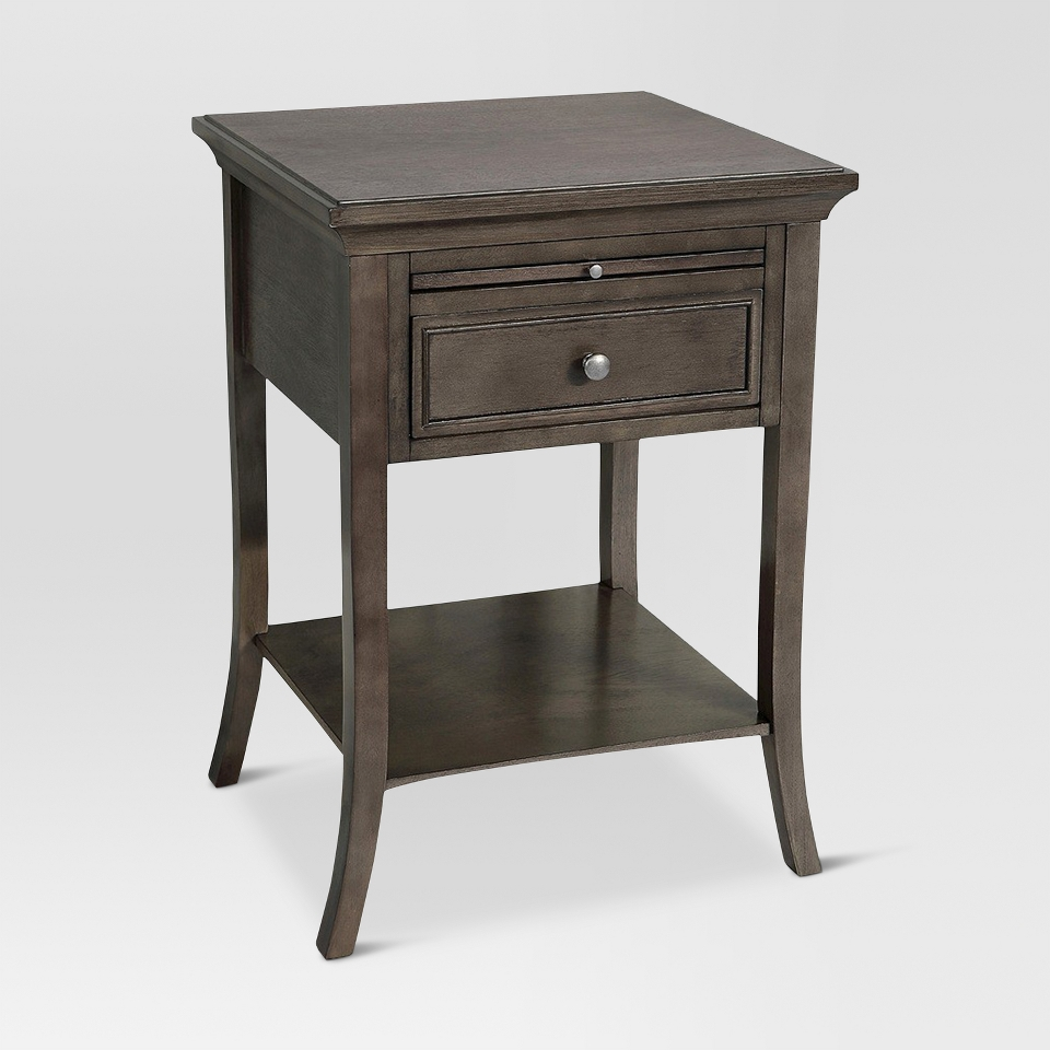 accent table threshold simply extraordinary side gray popscreen lift top coffee crystal nightstand lamps one drawer teak end linens apartment decor entry room grey outdoor runner