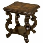 accent table walnut maitland smith home gallery west elm parsons coffee wicker basket end small round marble metal bookshelf driftwood pier one imports dining room office depot 150x150