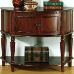 accent table wasserer info coaster tables brown entry with curved front inlay shelf fine furniture target threshold wood clear perspex storage console cabinet vinyl christmas 150x150